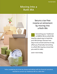 Moving Into a Roth IRA — Conversions