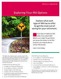 Exploring Your IRA Options